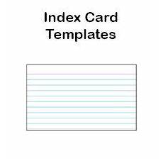 3x5 Card Printer Printable Index Card Templates 3x5 And 4x6 Blank Pdfs