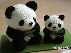 osos panda a crochet amigurimi amigurumi fashion