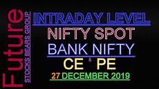Nifty Option Premium Chart Nifty Bank Nifty Amp Option Chain Tomorrow For 27 Dec 2019