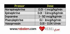 Vasopressor Chart Salim R Rezaie Md On Twitter Quot Can Never Remember