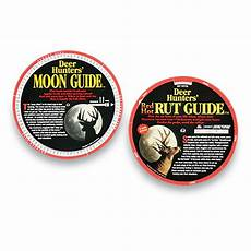 Free Deer Hunting Moon Chart Deer Hunter S Red Rut Guide 96516 Other Hunting