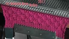 patterning on the singer sk155 knitting machine