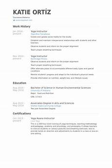 Yoga Instructor Resume Image Result For Yoga Instructor For Beginners Resume