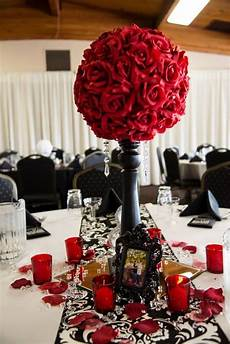 black red and white diy wedding i was in love with our