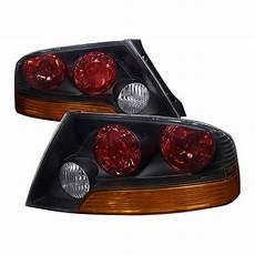 2003 Lancer Lights 03 04 Mitsubishi Lancer 8 9 Black Housing Euro Style