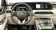hyundai palisade 2020 interior 2020 hyundai palisade drive review consumer reports