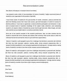 Recommendation Letter From Teacher Free 7 Sample Letter Of Recommendation For Teacher In Pdf