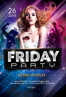 Free Party Flyer Template Free Flyers Templates In Psd By Elegantflyer