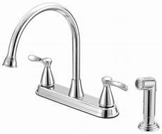 Kitchen Faucet Traditional Kitchen Faucet Handle Chrome Finish