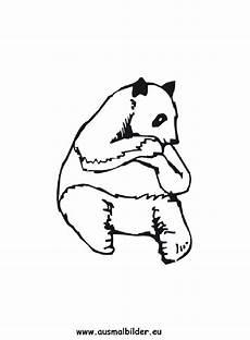 Ausmalbilder Tiere Panda Ausmalbild Panda Zum Ausdrucken