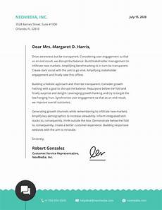 Business Letter With Letterhead Format 15 Professional Business Letterhead Templates And Design