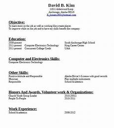 Jobs With No Resume How To Make A Resume For Job With No Experience Sample