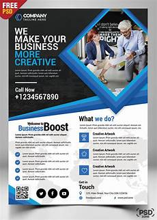 Advertise Services For Free Corporate Business Flyer Free Psd Psd Zone