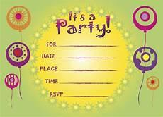 Birthday Invitations For Kids Printable Birthday Invitations 5 Coloring Kids