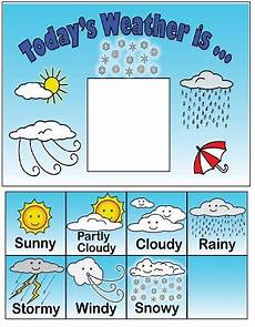 5 Day Weather Chart Weather Chart For Elementary Classrooms Preschool