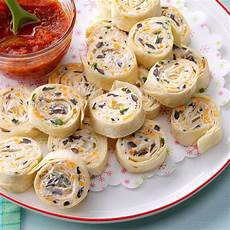 appetizers pinwheel appetizer tortilla pinwheels recipe taste of home