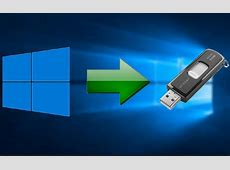 How to run Windows 10 from a portable USB stick