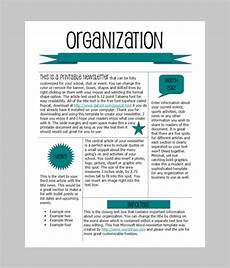 Work Templates Free Word Newsletter Template 31 Free Printable Microsoft