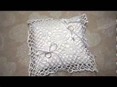 uncinetto cuscini cuscino portafedi all uncinetto