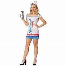 Busch Light Costume Natural Light Can Dress Costume Anheuser Busch Halloween