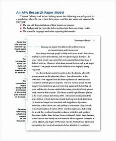 Free Apa Format Program 47 Grab These Free Download Apa Format Template For Your