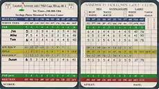 Golf Scorecard Template Understanding Your Golf Score Card Youtube