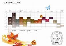 Davines Mask Colour Chart Davines A New Colour Shades Chart Hair Color Chart