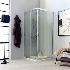 cabine doccia box doccia trasparente quadrata 80x80 cm kv store