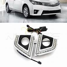 Corolla 2017 Fog Lights For Toyota Corolla 2014 2017 Car Special Led Daytime