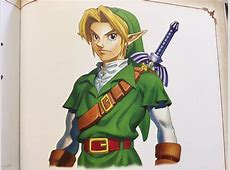 Nintendo artists say Link is based on a Hollywood actor