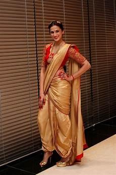 Dhoti Saree Design How To Drape A Saree In 15 Trendy Ways Fashion