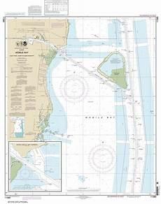 Alabama River Navigation Charts Themapstore Noaa Charts Florida Alabama Gulf Of
