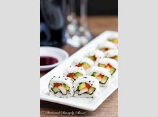 Homemade Sushi Rolls ~Sweet & Savory