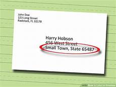 How To Label An Envelope How To Label An Envelope 13 Steps With Pictures Wikihow