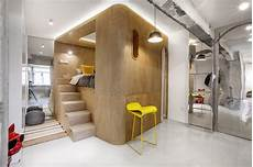 Design A Fitness Plan Rotated Volumes Cleverly Maximize Space In A Tiny Shanghai