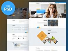 Webtemplate Psd Business Plus Free Psd Website Template