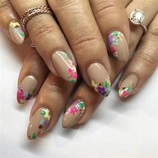 Neutral Nail Designs 21 Gorgeous Floral Nail Designs For Spring Page 2 Of 2