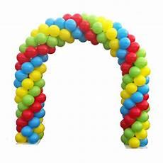 arco de globos basic balloon arch rental entertainment