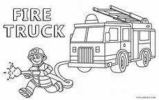 free printable truck coloring pages for