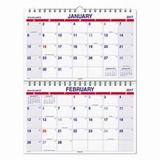 Two Month Calendar 2020 At A Glance Pmlf928 Move A Page 22 Quot X 28 1 2 Quot January 2020
