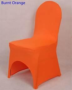 aliexpress com buy burnt orange colour chair covers
