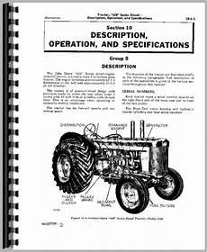 John Deere 80 Tractor Service Manual