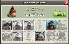 Barbarian King Upgrade Chart Max Level 5 Barbarian King Amp Dark Troops Upgrade At Town