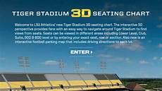 Tiger Stadium Seating Chart 3d Lsu Introduces Seats 3d For Tiger Stadium Lsusports