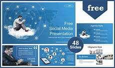 Social Media Ppt Templates Social Media Marketing Powerpoint Templates For Free