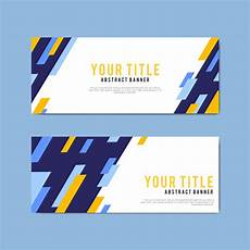 Banner Design Colorful And Abstract Banner Design Templates Download