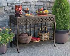 outdoor console table materials hupehome