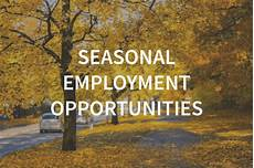 Seasonal Jobs Part Time And Seasonal Employment Temporary Jobs Labor