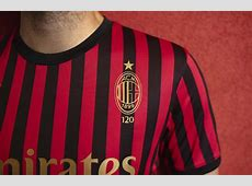 PUMA Launch AC Milan 120th Anniversary Commemorative Shirt