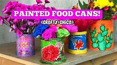 tin can crafts paint fabric make
